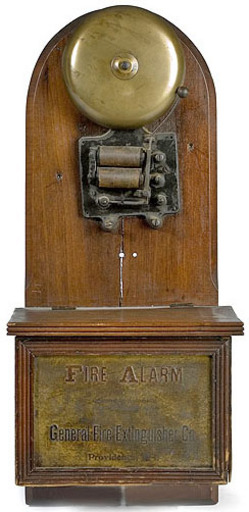 Alarm General Fire Extinguisher Co Brass Bell Clapper