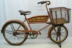 4be1f90794f A prewar Schwinn Cycle Truck with corner store advert; image credit on full  record.