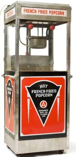 mfg popcorn machine
