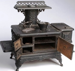 Antique Heaters and Stoves For Sale - Detroit Stove Works Jewel