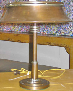 Desk Lamp American Faries Mfg Co Bronze Tone Amp Silver