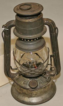 Lantern Dietz Little Wizard Clear Globe 1935 Patent