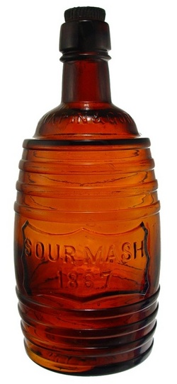 Whiskey Bottle Chapin Amp Gore Sour Mash 1867 Shield