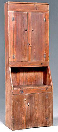 Furniture cupboard wall yellow pine step back 4 for Yellow pine wood doors