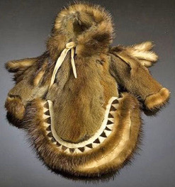 Doll Clothing Eskimo Parka Squirrel Fur 10 Inch