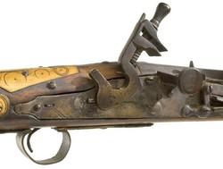 Italian Snaphance style flintlock pistol signed Peter Tomasi ...