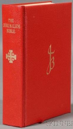 Bible The Jerusalem Bible Dali Illustrations