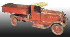 Toy Truck Turner Dump C Cab Pressed Steel 30 Inch