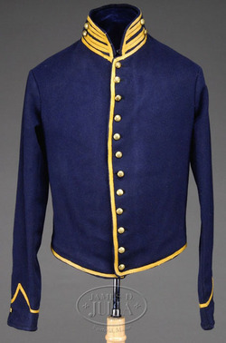 Uniform Civil War Union Shell Jacket Cavalry Eagle