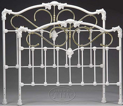Iron Bed Frames - Wrought, Cast, Antique