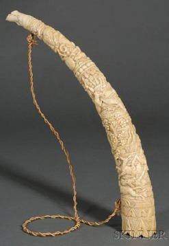 PURCHASER OF LEGAL ESTATE IVORY ELEPHANT TUSKS