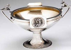 Gorham silver urn-style compote