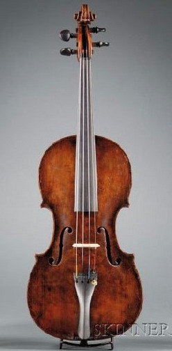 Strings; Violin, Hornsteiner (Georg)?, Mittenwald 1797 ... Hornsteiner Violins Value