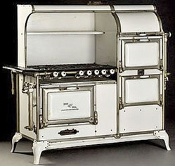 1920 WHITE ANTIQUE WEDGEWOOD STOVES - STOVES