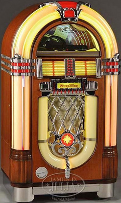 jukebox wurlitzer model 1015cd bubbler reproduction. Black Bedroom Furniture Sets. Home Design Ideas