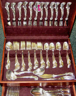 We have preowned sterling silver flatware in both active and