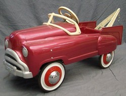 Pedal Car Murray Tow Truck Sad Face Grill Restored