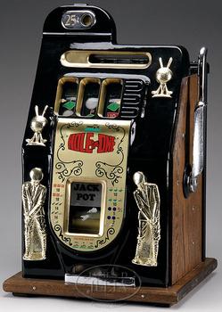 Slot Machine Mills Hole In One 3 Reel 25 Cent Golfer