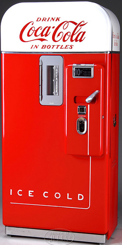 vendo 63 coke machine value