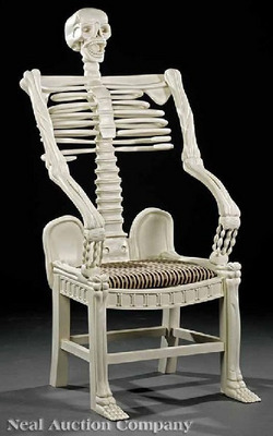 Skulls And Bacon The Skeleton Chair