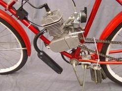 Motorbike Sears Simpson Engine Ca 1950 Restored