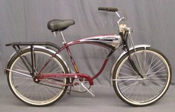 ec22a24a901 Schwinn Cruiser Deluxe bicycle, 100 Anniversary Edition, 1995; image credit  on full record.