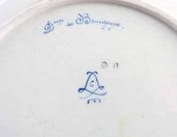 Marks counterfeit porcelain sevres Please help