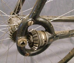 Columbia Model 59 bicycle, the rear chainless gear drive; image credit ...
