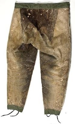 Clothing Yupik Pants Seal Fur 35 Inch