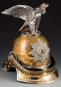 Helmet German Model 1843 Garde Du Corps Officer