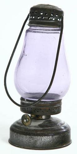 Lantern Skater 39 S Tin Amethyst Globe Little Bobs
