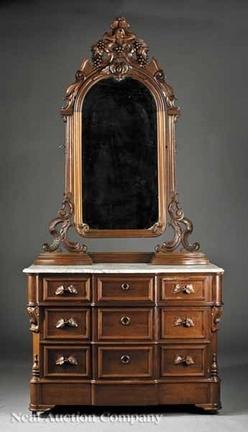 Furniture Suite Bedroom Victorian Renaissance Revival