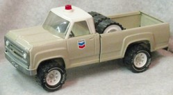 Toy Truck Tonka Chevron Gas Pickup Pressed Steel