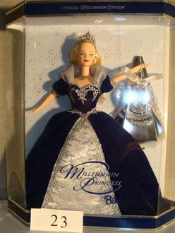 What The Value Of The 2000 Millennium Princess Barbie Doll | Personal