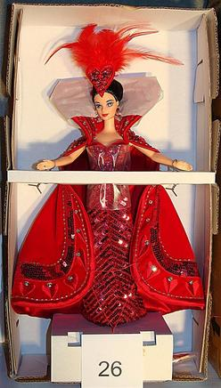 Barbie Doll Bob Mackie Queen Of Hearts Autograph Card
