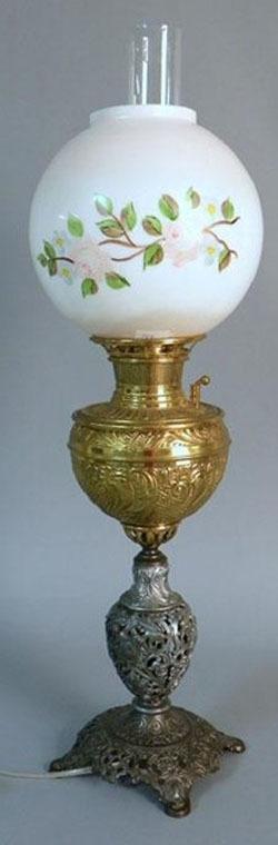 antique lamp lighting antique lamps value. Black Bedroom Furniture Sets. Home Design Ideas