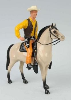 Figure; Hartland, Western, Marshall Matt Dillon & Horse Buck.