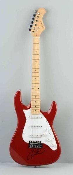 signed memorabilia santana carlos guitar california electric 2005. Black Bedroom Furniture Sets. Home Design Ideas