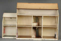 Dollhouse Tynietoy New England Townhouse 6 Rooms 5 Bay