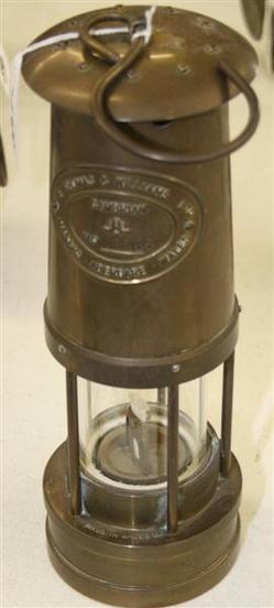 Miner Lamp Thomas Amp Williams Cambrian Brass Replica