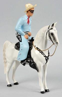 Figure Hartland Western Lone Ranger Amp Silver Standing