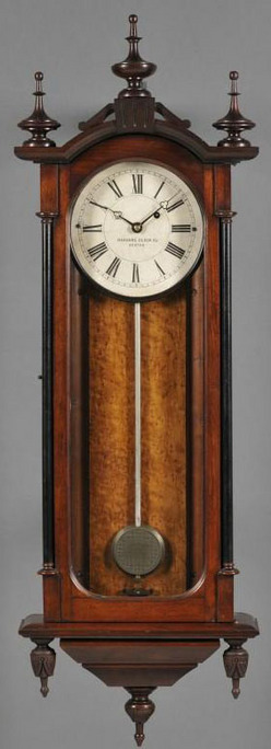 Regulator Clock Harvard Clock Co Howard No 59 Case Form