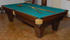 Amazing A Brunswick Heritage GD Model Billiards Or Pool Table With Manual And  Accessories; Image Credit On Full Record.