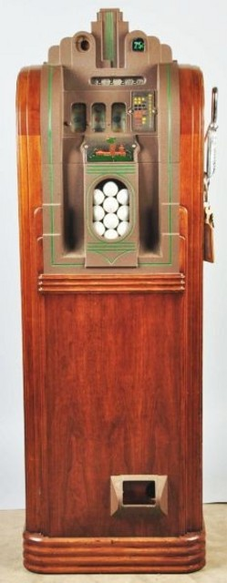 Slot Machine Mills Extraordinary Golf Ball Vendor 25