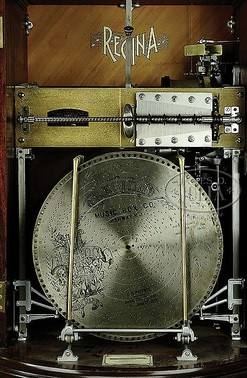 Bells Auto Sales >> Music Box; Regina, Disc (15 inch), Upright, Auto Change ...