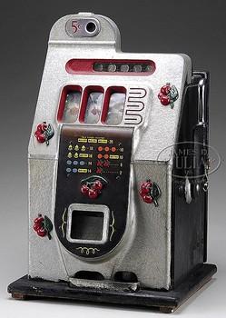 Slot Machine Mills Black Cherry 5 Cent