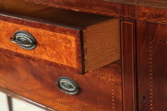 Attrayant Dovetails In A Drawer Of The Federal Style Sideboard By Robert W. Irwin  Company; Image Credit On Full Record.