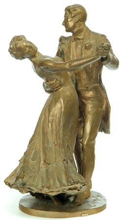 Picture of couple waltzing