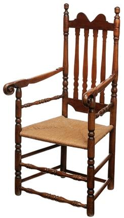 furniture chair arm banister back maple cherry oak