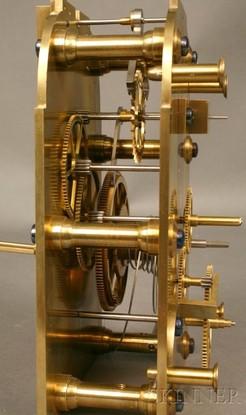 Astronomical Regulator Clock Frodsham No 1876 Mahogany